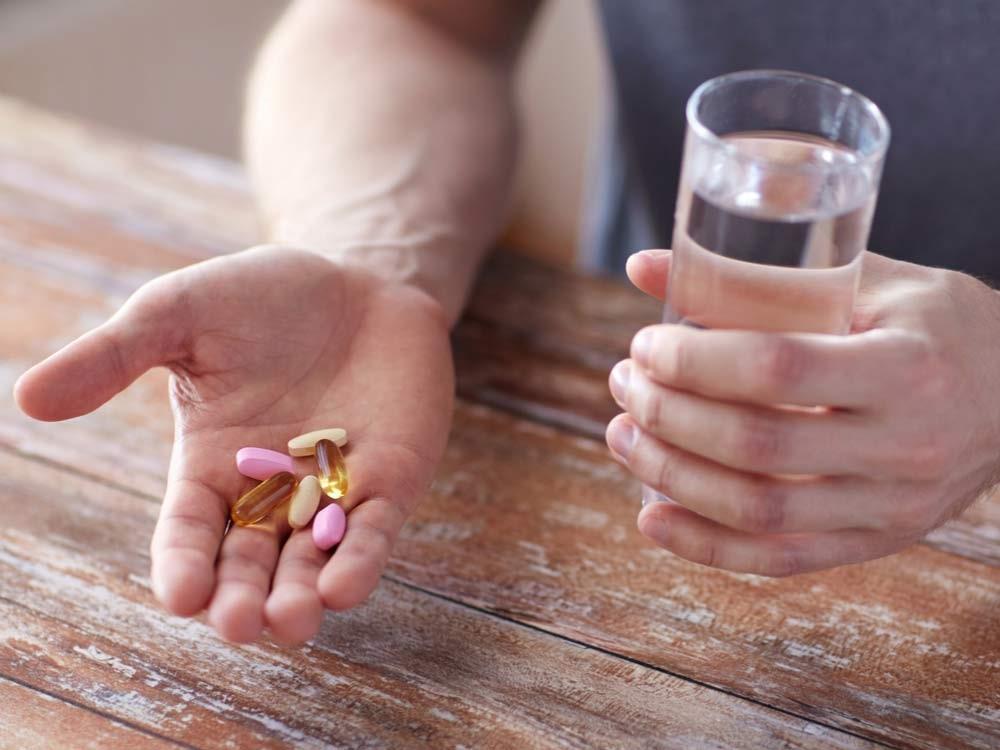 قرص ویتامین مصرف کنید