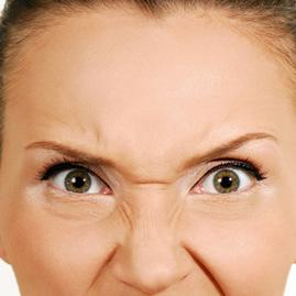 درمان و رفع خطوط و چین جروک روی بینی با تزریق بوتاکس